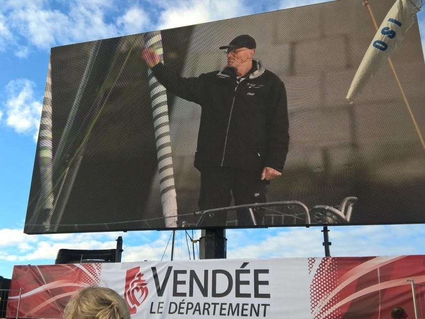 Vendee Globe rajt 2016, Fa Nándor Hungary, Ricky Sport Keszthely, International hajófesték