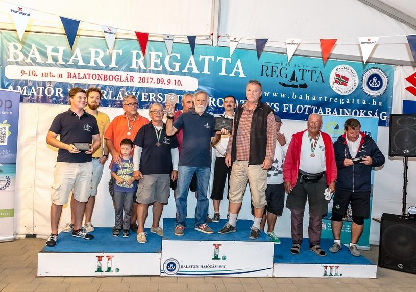 XXII. International Kupa 2017. szeptember 9-én Balatonbogláron, Ricky Sport Keszthely, Péter-Pál I. helyezett